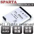 SPARTA Nikon EN-EL19 安全防爆 高容量鋰電池