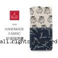 le hanger 楽衣架 創意手作 日本先染布 iPhone 6 plus (5.5吋) 保護殼-祈福貓頭鷹