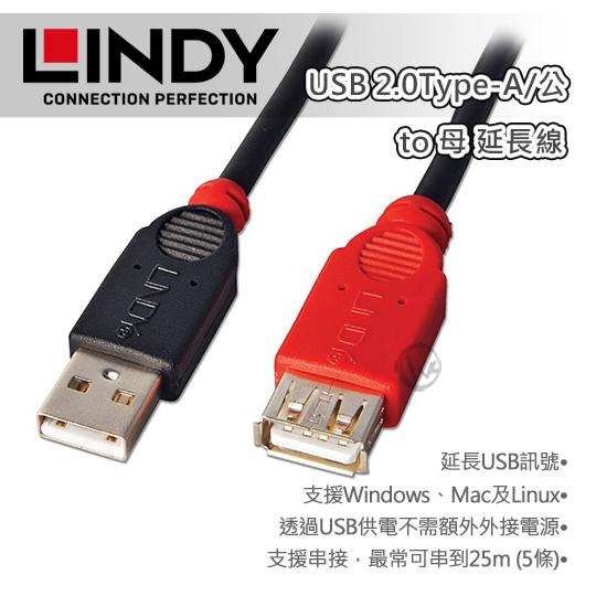 LINDY 林帝 USB 2.0 Type C/公 轉 Micro USB/母 轉接頭 41896