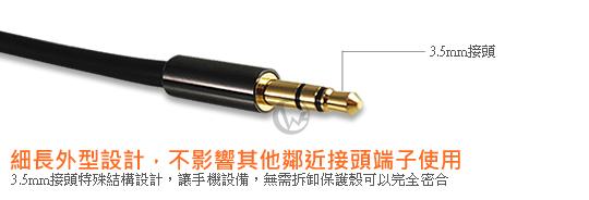 LINDY 3.5mm公 轉 RCA公 立體聲 音源線  02
