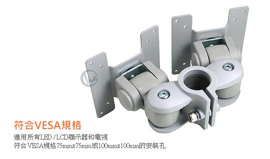 LINDY 林帝 台灣製 鋁合金 背靠背 短旋臂式 雙螢幕支架 LCD Arm (40694) 02