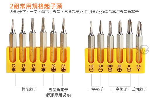 LINDY 台灣製 17合1 手機平板電腦 維修工具組 (43004)  02