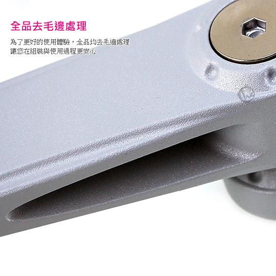 LINDY 林帝 台灣製 筆記型電腦/平板電腦 人體工學 長旋臂式 螢幕支架 (40699) 05