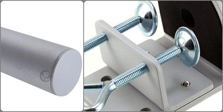 LINDY 林帝 台灣製 中鋼鋼材 開孔式 螢幕架專用支桿 40692, 40693 02