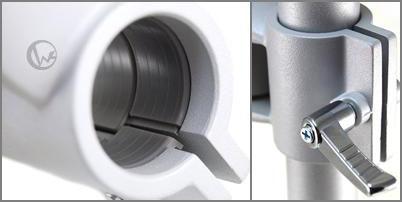 LINDY 林帝 台灣製 鋁合金 多功能 短旋臂式 螢幕支架 LCD Arm  40695  18