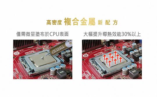 JETART 高密度 複合金屬 超導散熱膏 CK8000 03