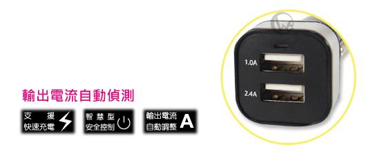 捷藝 Jetart 雙孔 USB車用充電器 (UCB2034)   03