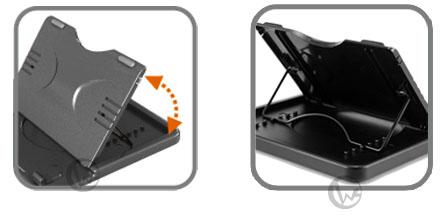 Jetart 捷藝 CoolStand Lite NC1200 台灣製 免持多視角 360度旋轉 平板電腦支架 04