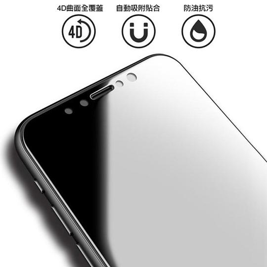 透明殼專家 iPhone Xs Max 防爆軟膜 全螢幕保貼 2枚入 01