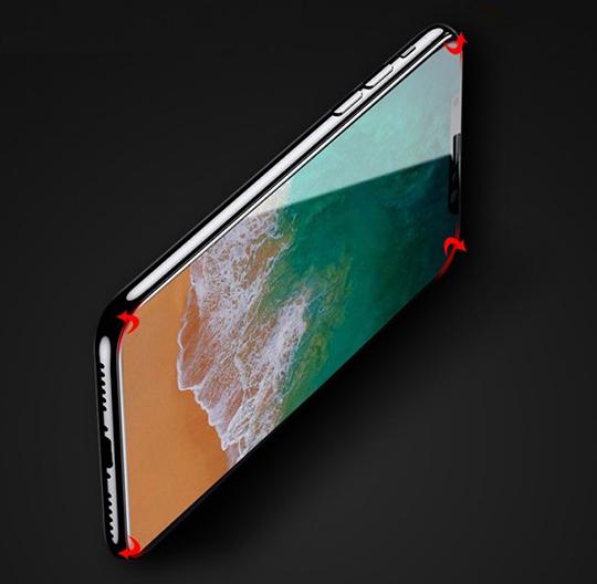 透明殼專家 iPhone Xs Max 防爆軟膜 全螢幕保貼 2枚入 02