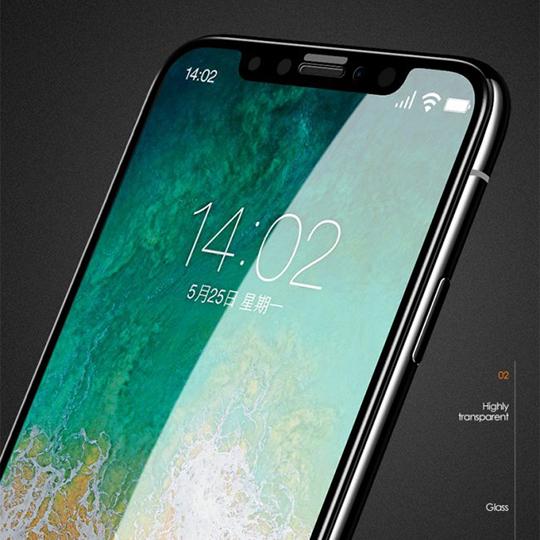 透明殼專家 iPhone Xs Max 防爆軟膜 全螢幕保貼 2枚入 07