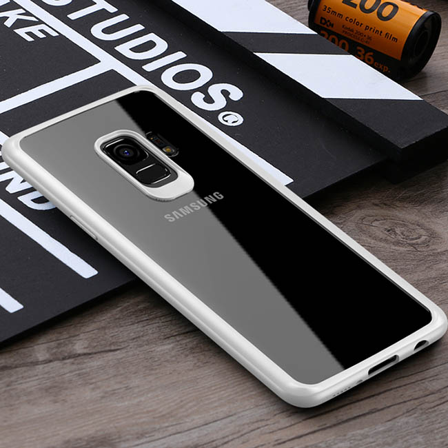 透明殼專家 SAMSUNG S9+ 防撞邊框 抗刮背蓋殼