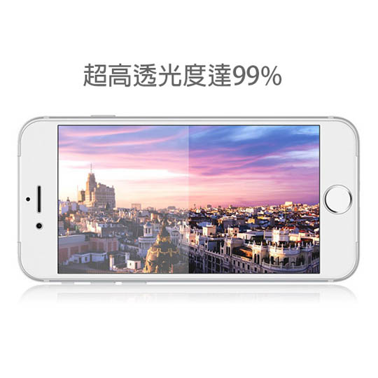 透明殼專家 iPhone8/7 防爆軟膜 全螢幕保貼 2枚入
