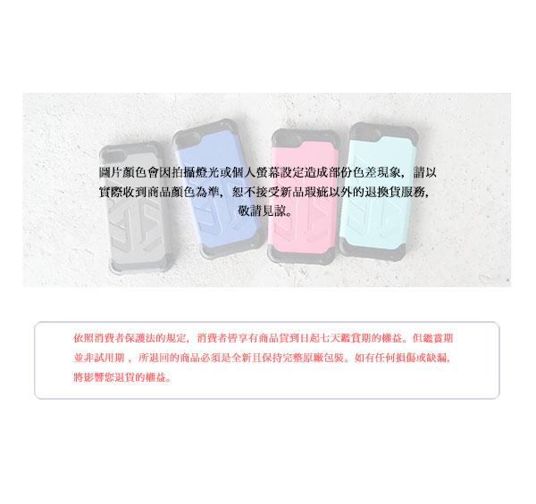 Optima iPhone 7 Plus 雙料耐衝擊保護殼 大地灰